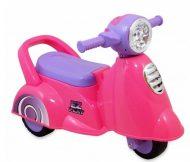 Detské odrážadlo - trojkolesová motorka, farba pink